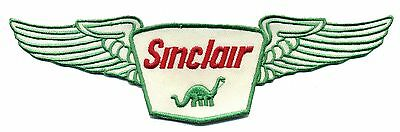"""8"""" Sinclair Patch with wings Gas Station Motor Oil Dino Hot Rod Sales Service"""