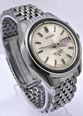 Vintage 1968 Seiko 4006-7010 Bell-Matic Alarm With 27 Jewels!!! Usa Seller!