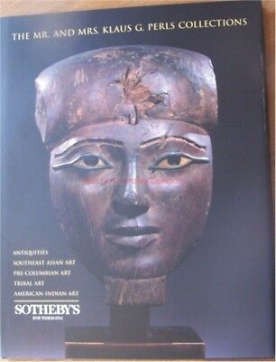 Sothebys Perls Collection 1995 Antiquities Tribal SE Asian & Pre-Columbian HC FC