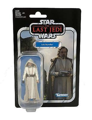 Star Wars The Vintage Collection Luke Skywalker Jedi Master 3 3/4-Inch Action Fi