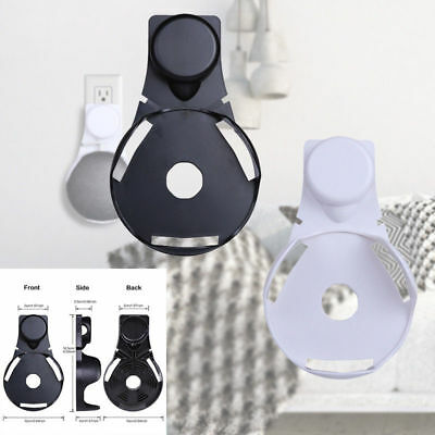 Outlet Wall Mount Compact Hanger Holder Stand Fr Google Home Mini Voice*US Plug*