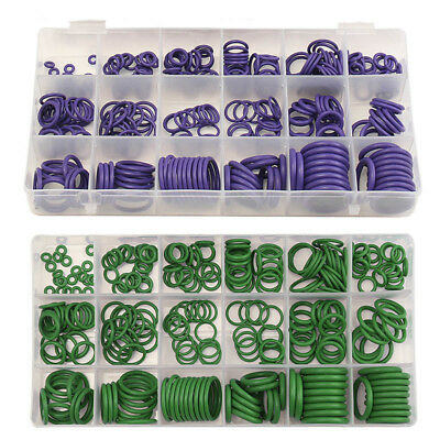 Suleve Air Conditioning Rubber Washer Assortment for R22 R134a Green/Purple Stan