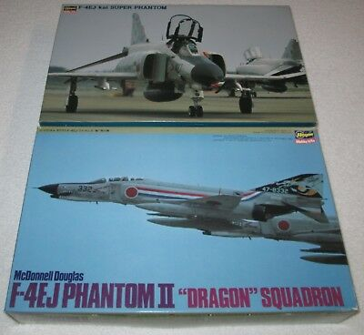 FREE Shipping! RARE Lot of TWO (2) Limited 1:48 F-4EJ HASEGAWA Kits: SP104 & P2X