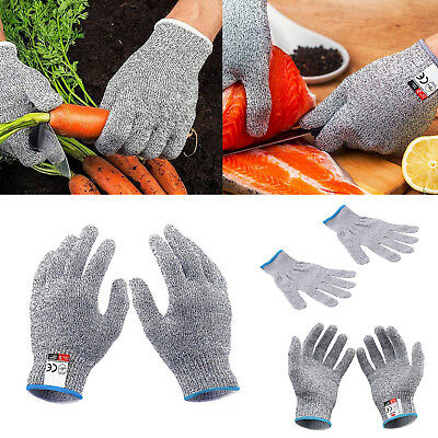 Safety Cut Proof Stab Resistant Stainless Steel Metal Mesh Butcher Work Glove UK