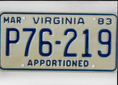 """DELAWARE license plate """"C25407"""" ***UNUSED***APPORTIONED***"""