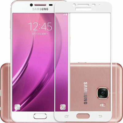 Full Cover Tempered Glass Film Screen Protector For Samsung Galaxy C9 PRO
