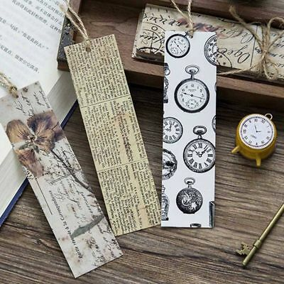 30PCS/Set Bookmark Stationery Note Message Summary Function Card  Beauty