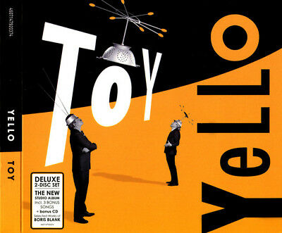 Yello Toy 2CD SET In Digipak NEW