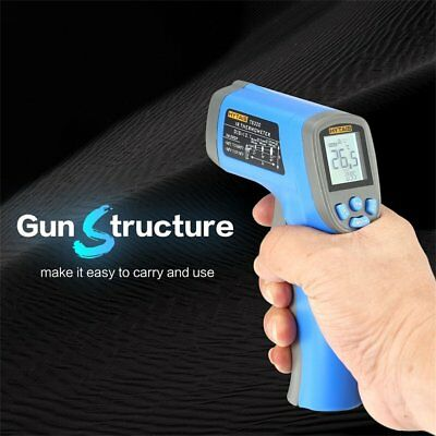 TS320 Digital Infrared Temperature Gun Thermometer Non-Contact IR Laser PointZW