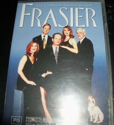 Frasier : The Complete Fourth Series Season 4 (Australia Region 4) DVD – New