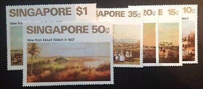Singapore 1971 Set Of 6 Mint Mnh