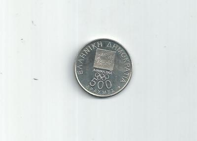 Greece Greek  Coin One 500 Draxmes Athens 2004