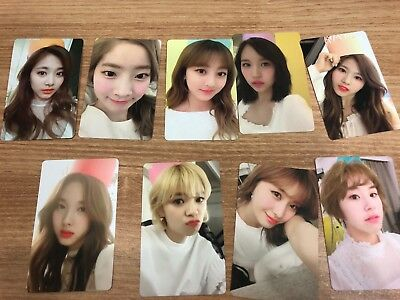 Twice Once 1st Official Membership Fan Kit Photocard Set Limited Rare Opened