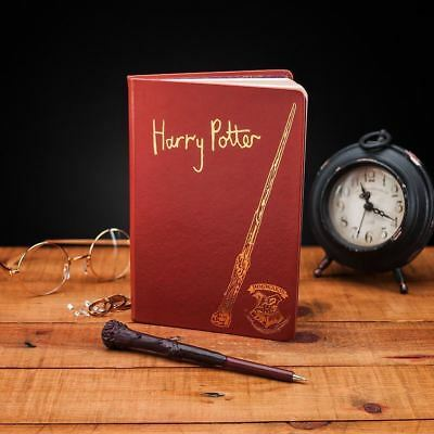 Harry Potter Diario Quaderno Notebook Set  Penna Bacchetta Wand