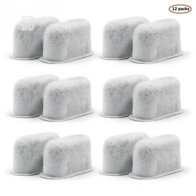 12-replacement Charcoal Water Filters for Cuisinart Coffee Machines DCC