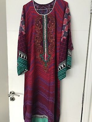 New Stitched Maria B Linen Embroidered Stitched Suit Original