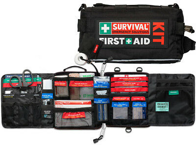 SURVIVAL Vehicle First Aid KIT - Perfect for the Car, Ute, Truck or Work Vehicle