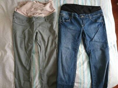 Maternity Jeanswest Pants And Shorts Size 10 & 8 VGC