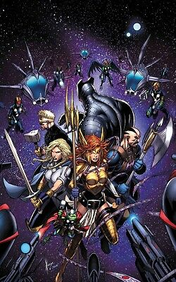 Asgardians Of The Galaxy #4 - Marvel - Release Date 12/12/18