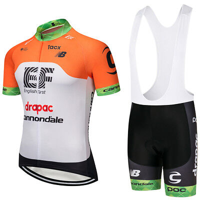 NEW 2018 Cannondale drapac Replica Cycling Jersey and Bib Short Set Racing  Pro e7cfed144