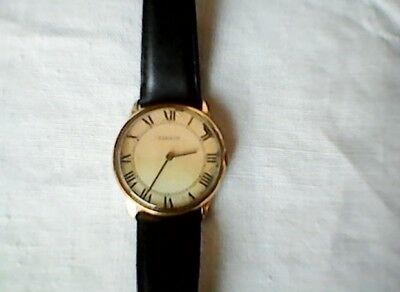 A Tissot Gents Vintage Swiss Made Manual Wind Wristwatch Working