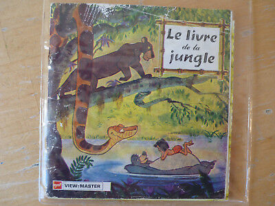 View-Master Scheiben Le livre de la jungle