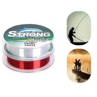100M Fishing Line Nylon Leader Line Wear-resistant Fishing Wire Fly Fishing Line