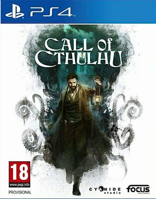 Call of Cthulhu (PS4)  BRAND NEW AND SEALED - IN STOCK - QUICK DISPATCH