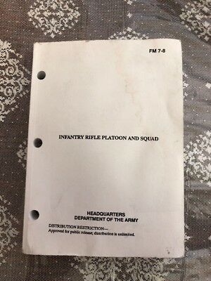 US Army FM 7-8 Infantry Rifle Platoon and Squad (April 1992)