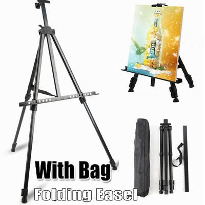 Artist Students PaintingTripod Easel Display Stand Drawing Board Art Sketch +Bag