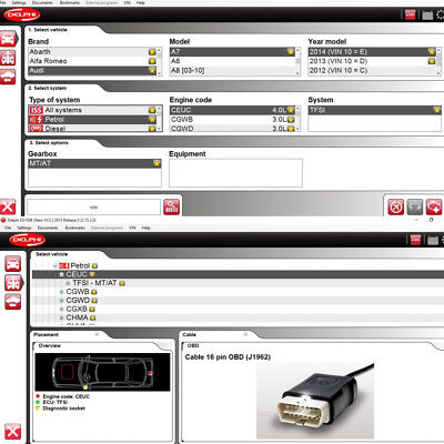 Diagnostic Software 2015 R3+Keygen for Cars and Trucks for TCS CDP+ PRO,NEW VCI
