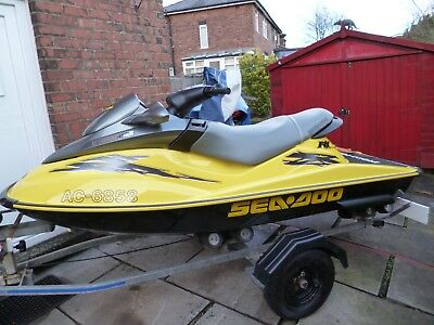 *** SEADOO RXDI JET SKI,ROLLER TRAILER,COVER,DATATAG,2-KEYS AND  PAPERWORK ***