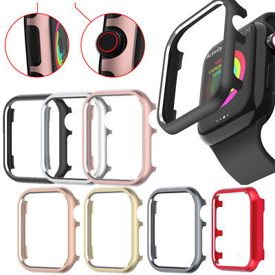 For Apple Watch Series 4 3 21 Aluminum Protective Case Bumper Frame iWatch Cover