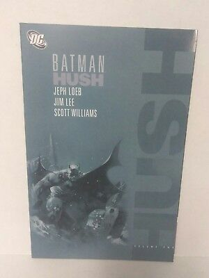 Batman Hush Volume 1 2 Jim Lee Dc Comics 2004 Tpb 1st Print Nm