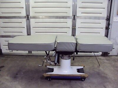 McManis Osteopathic/Chiropractic Table Grey