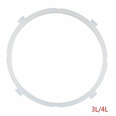 Silicone Rubber Clear Gasket Cooker Sealing Ring Replacement Pressure Cooker