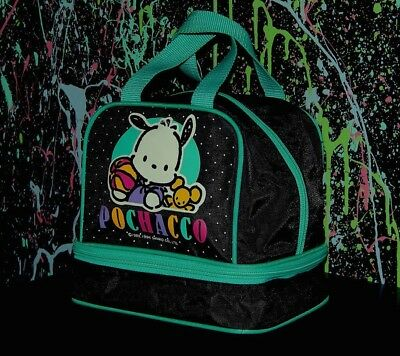 rare 1994 SANRIO POCHACCO SMALL ZIPPERED BAG makeup tote sack purse VINTAGE
