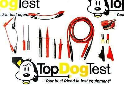"Probe Master 9104S Electronic Deluxe Test Lead Kit, 48""/120 cm"