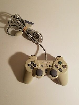 Official OEM Sony Playstation 1 PS1 PS One Dual Shock Controller White SCPH-110