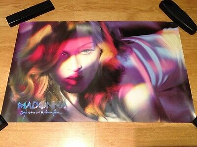 Madonna Confession On A Dance Floor 2005 Lithograph Mexican Promo Poster