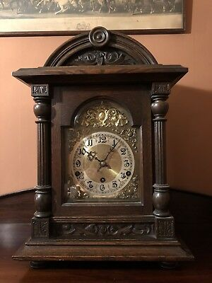 Edwardian Westminster Bracket Mantel Clock German