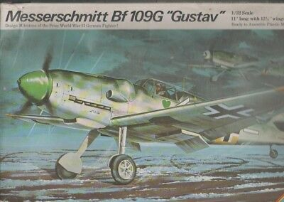 Revell 1:32 Luftwaffe Messerschmitt Bf 109 G Gustav Jäger Construction Kit Oldie