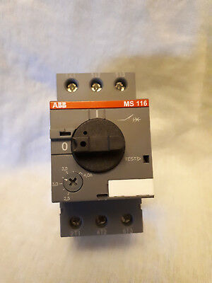 QUALITY ABB MS116-4.0 Manual Motor Starter