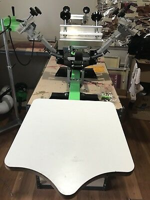 Ryonet 1 Station 4 Color Silk Screen Used