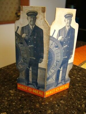 "1925 ""Steamboat Bill"" Stand-Up Malt-O-Meal Radio Show Premium"