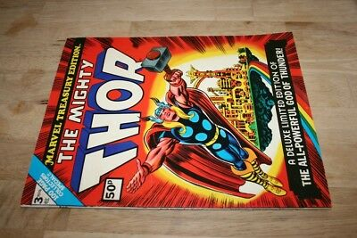 Marvel Treasury Edition..the Mighty Thor #3_1974_Vf+_Mighty Thor Premiere!