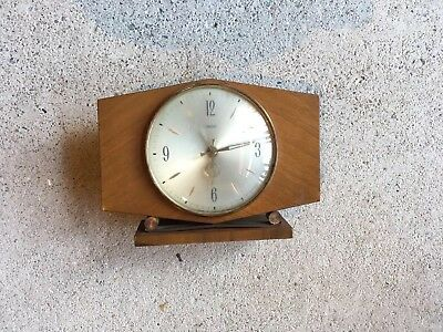 Vintage Electric Smiths Over Mantle Collectable Clock Made In England!