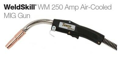 Tweco MIG Gun 15FT (10271057) 250A up to .045 for Euro-Kwik Style Back-End