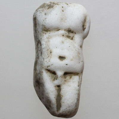 Rare Ancient Greek Stone Hercules Torso Circa 300-100 Bc
