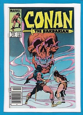 "Conan The Barbarian #175_October 1985_Near Mint Minus_""the Scarlet Personage""!"